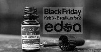 CBD olie - Black Friday - edoa.dk